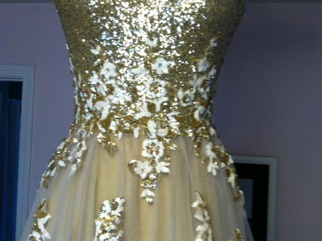 This Weeks Challenge – A Lettuce Hem Prom Dress