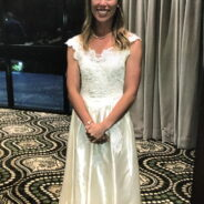 Before/After Vintage Gown